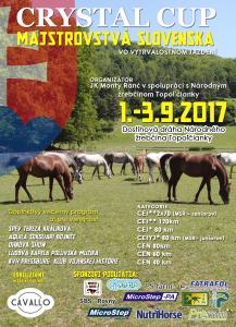 Majstrovstvá SR vo vytrvalostnom jazdení 2017 @ JK Monty Ranč | Topoľčianky | Slovensko