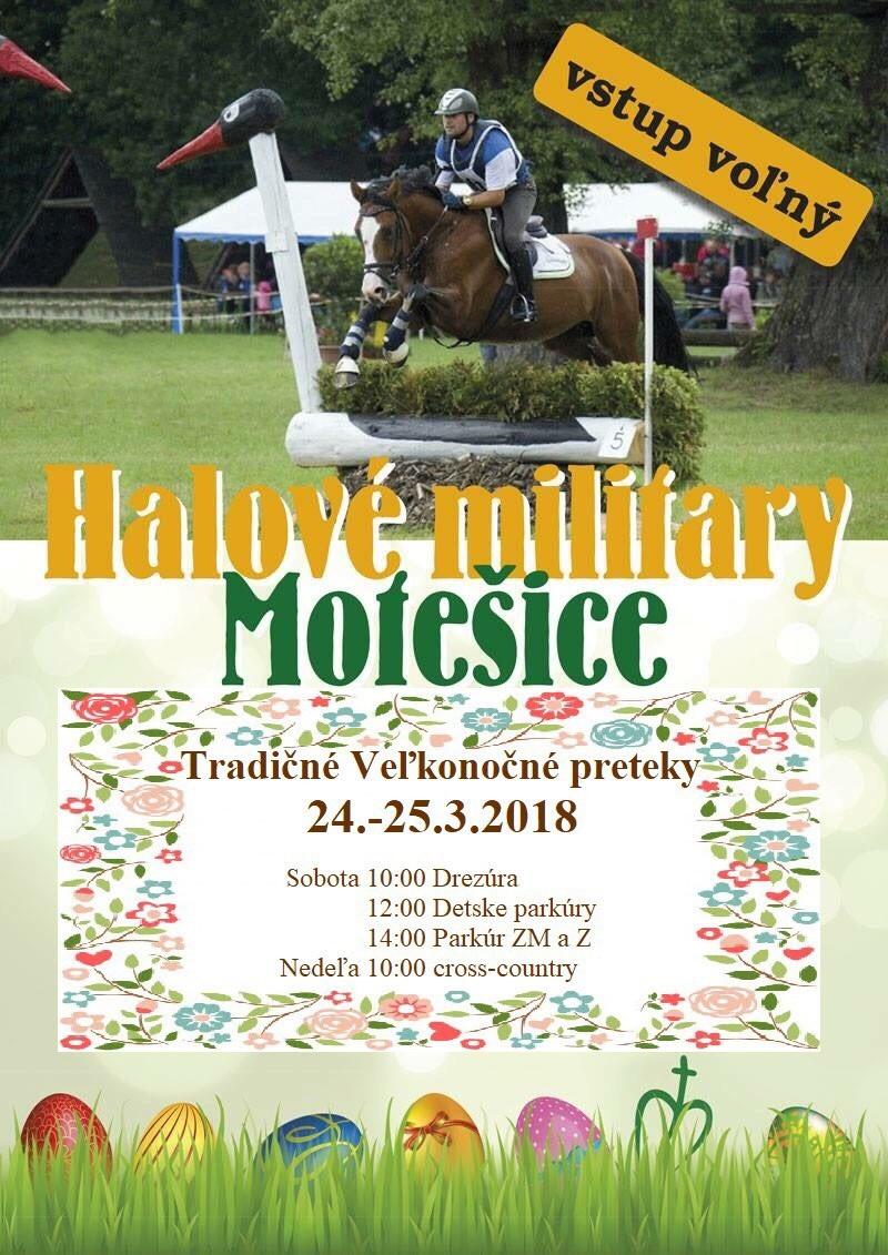 Halové Military Motešice 2018 @ TJ Žrebčín Motešice | Motešice | Trenčiansky kraj | Slovensko