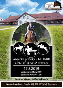 Military preteky na Masarykovom dvore @ JK Masarykov Dvor Vígľaš | Vígľaš | Banskobystrický kraj | Slovensko