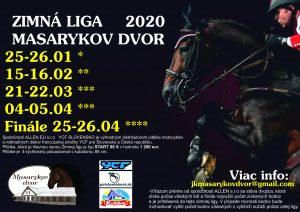 Zimná liga 2020 na Masarykovom dvore 2. kolo @ JK Masarykov dvor Vígľaš - Pstruša | Vígľaš | Banskobystrický kraj | Slovensko